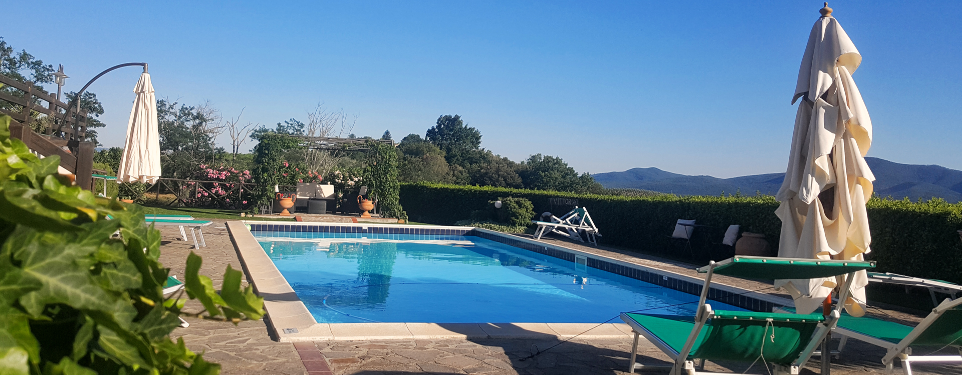 Casa Armini - Swimming pool view